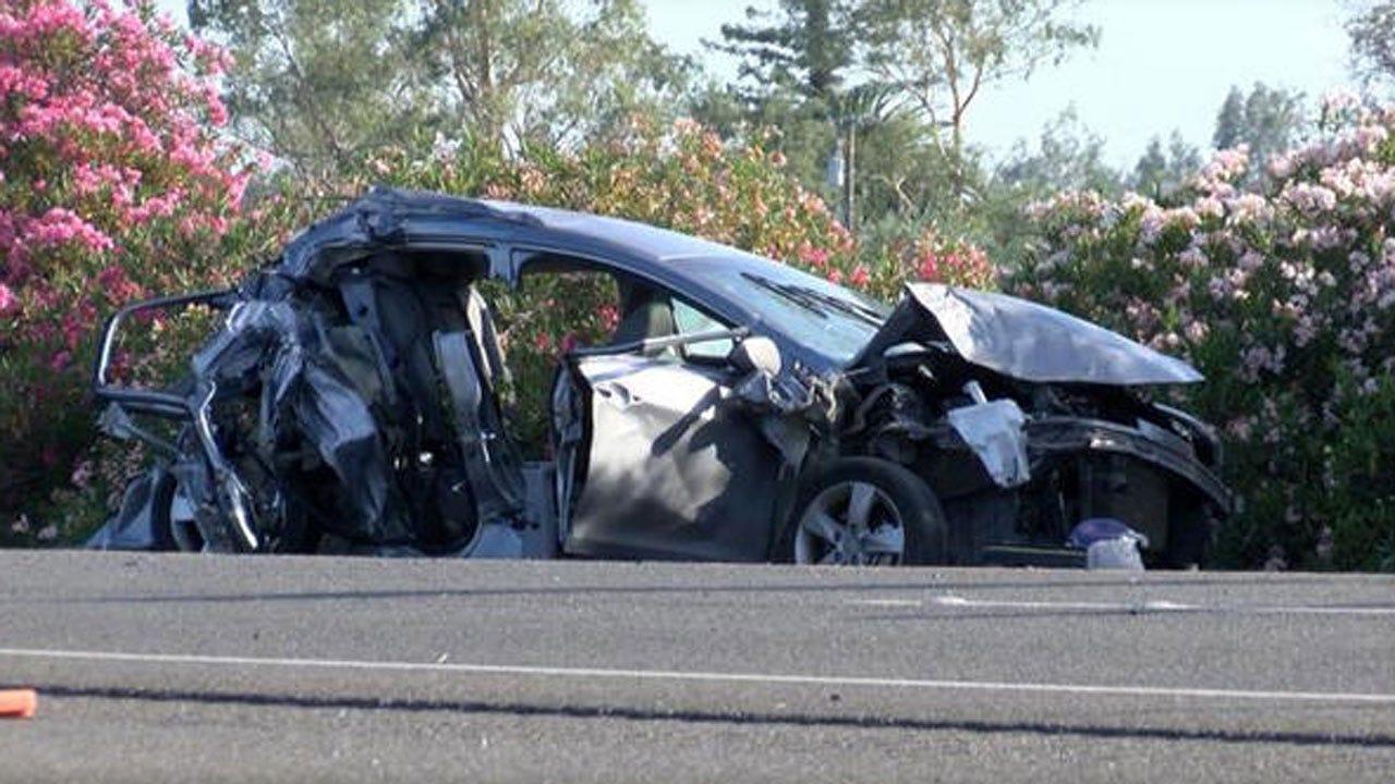 California Teen Killed When Distracted Highway Cop Slams Into Car