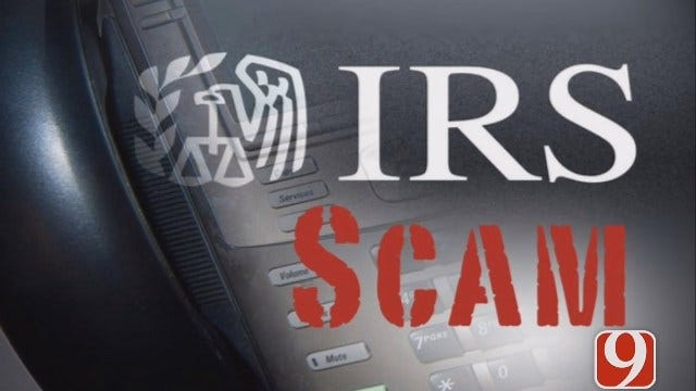 Oklahoma County Sheriff's Office Warns Of IRS Phone Scams