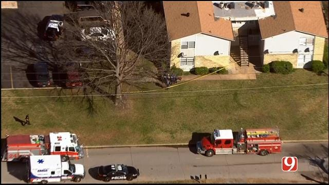 Police Respond To Shooting At NW OKC Apartment Complex