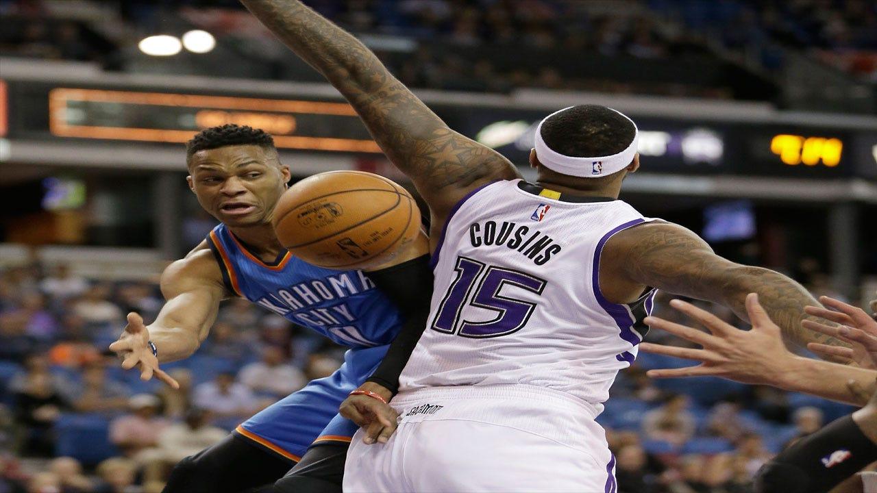 Royal Flush: Thunder Pummel Kings Behind Westbrook's Triple-Double