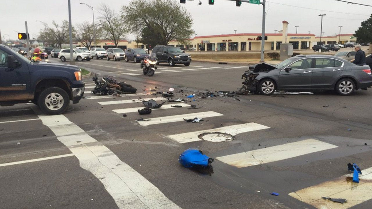 Motorcyclist Injured After Leading Edmond Police On Chase