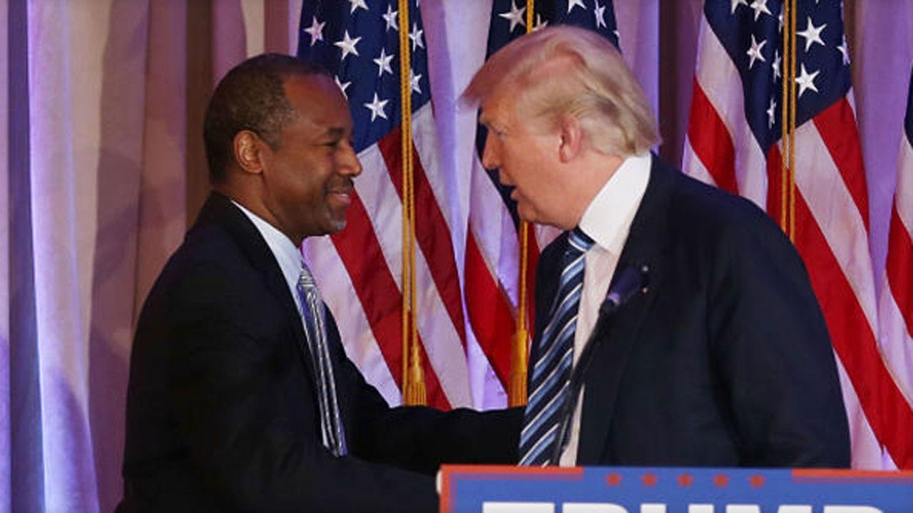 Ben Carson Endorses Donald Trump: 'We Buried The Hatchet'