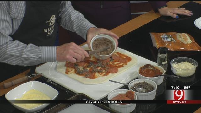 MIO: Savory Pizza Rolls