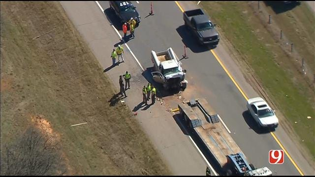 One Dead After Crash On WB I-40 East Of Oklahoma City