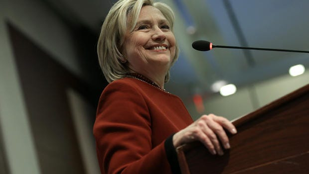 Clinton Projected To Win Four States
