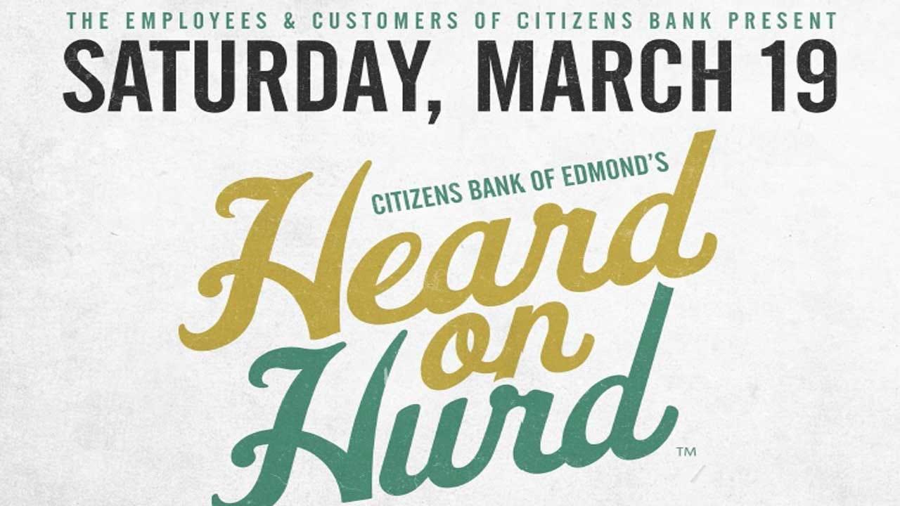 Edmond's 'Heard On Hurd' Returns This Saturday