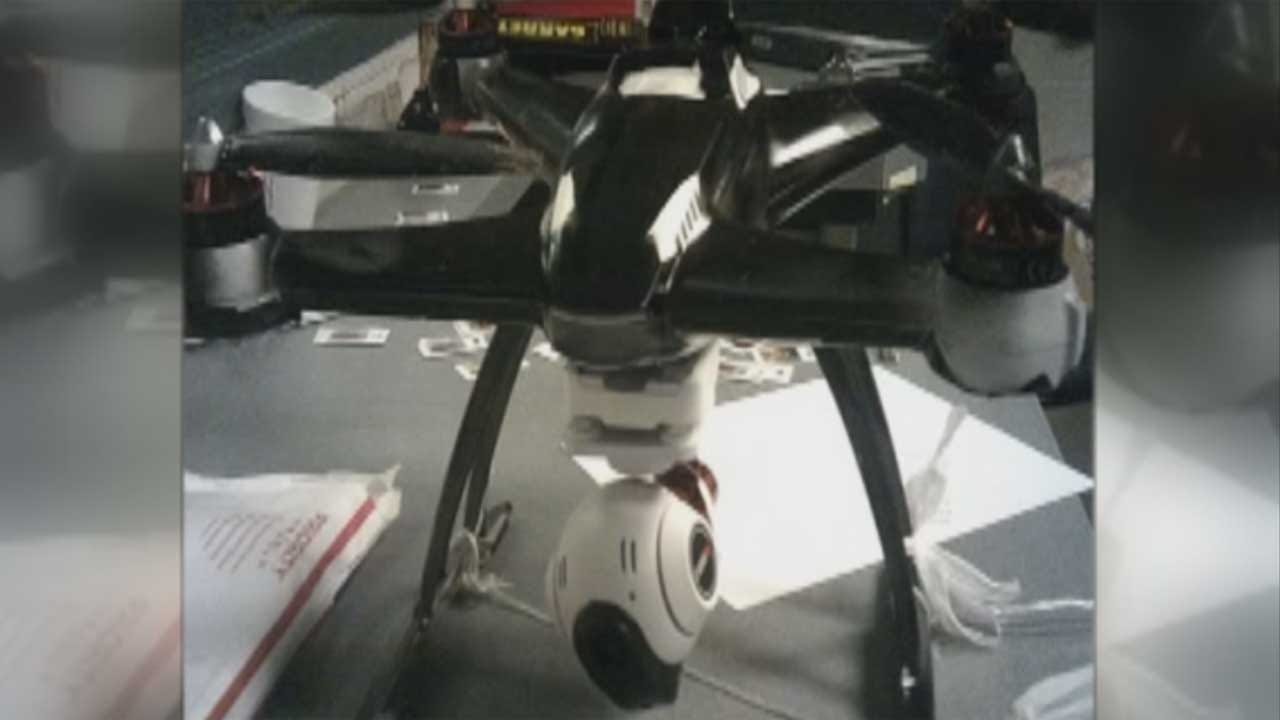 Drone Confiscated While Trying To Deliver Contraband To Cushing Prison