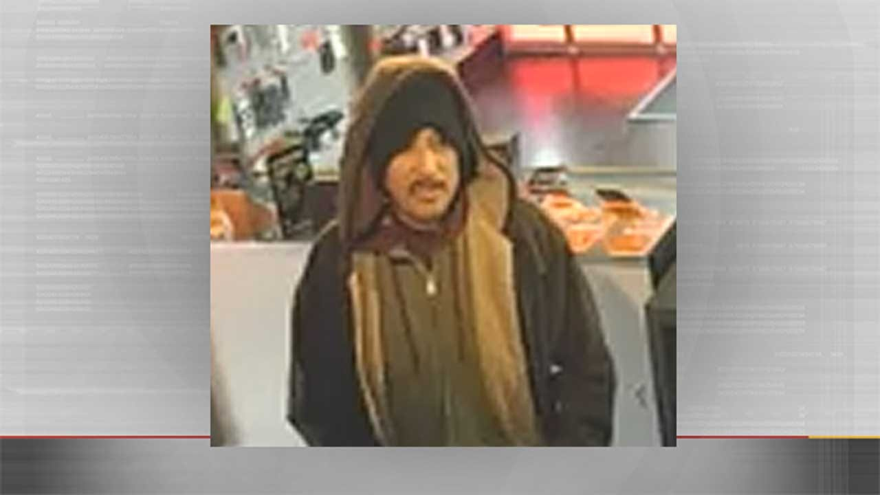 Police Seek Man Who Robbed NW OKC Business At Knife-Point