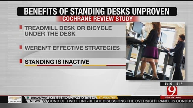 Can Standing Desks Really Lower Health Risks?