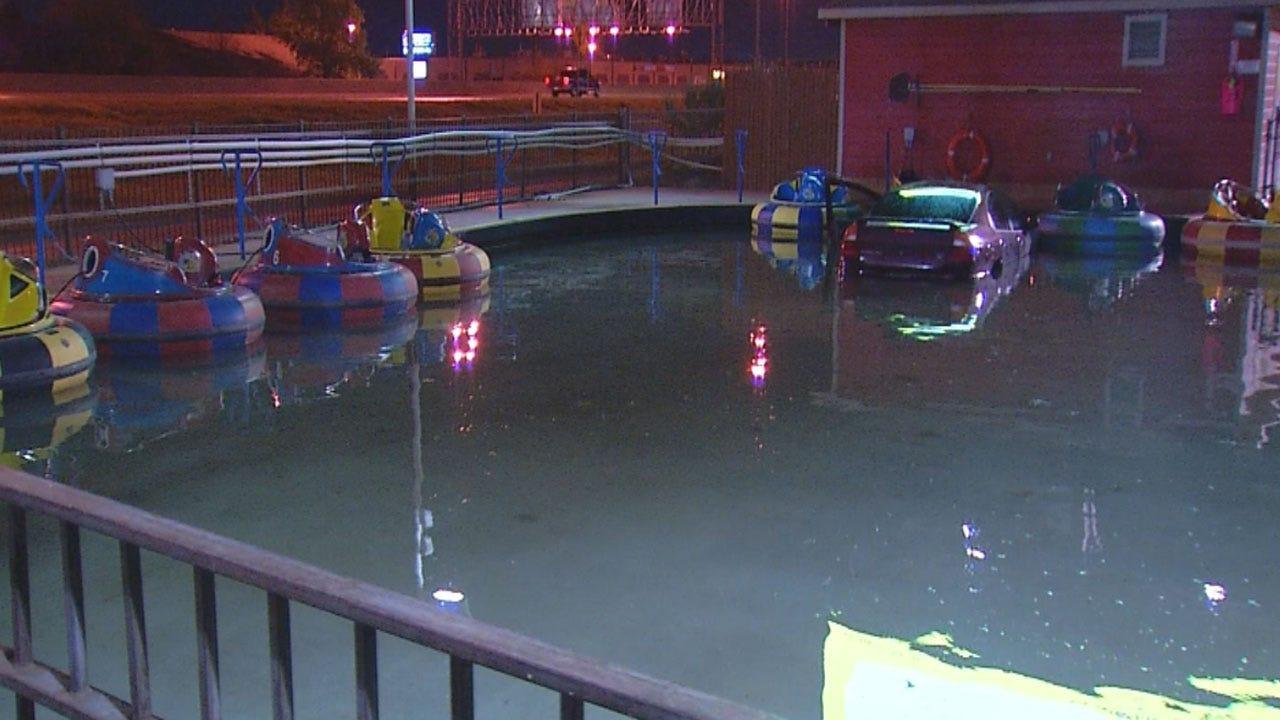 Man Drives Car Into Pool At OKC Celebration Station