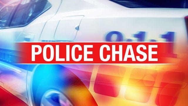 Pedestrian Hospitalized After Police Chase Through OKC