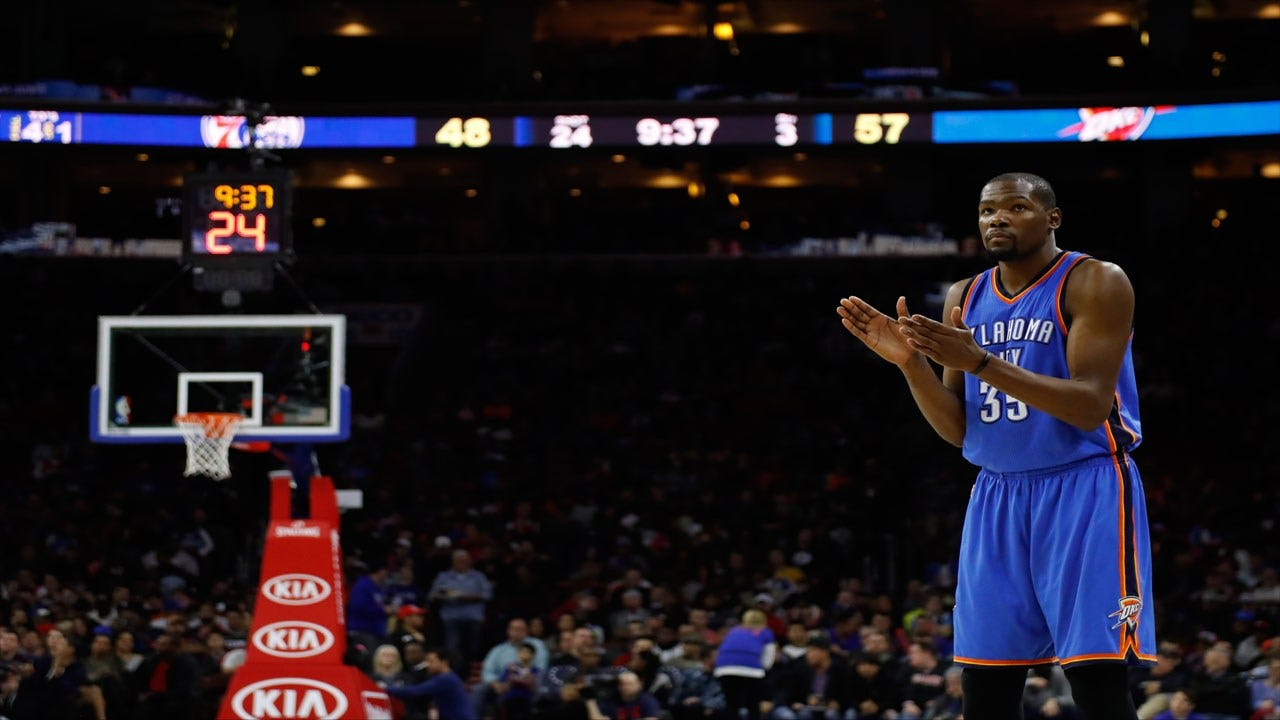 Thunder Blowout Sixers For Third Straight Double-Digit Win