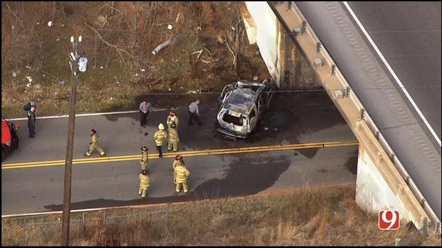 Crews On Scene Of Deadly Crash In Northeast OKC