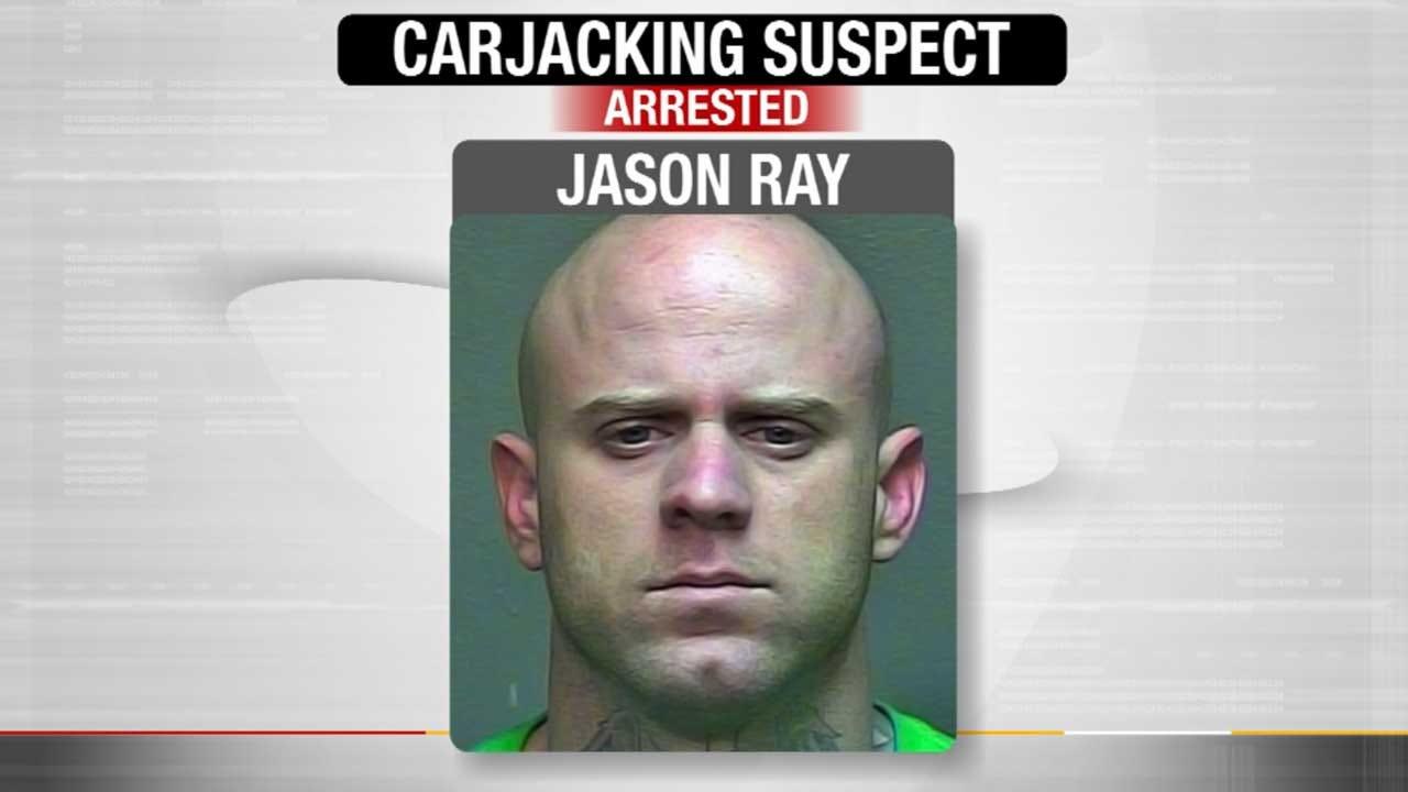 OKC Carjacking Suspect Arrested