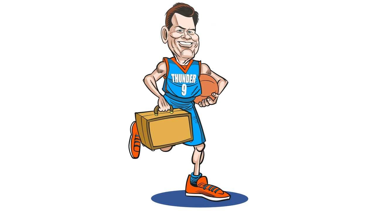 Thunder Social Scene: Steve's Inside Staples Center For Matchup With Clippers
