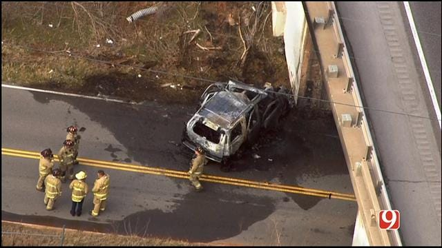 Victim In Fatal NE OKC Crash Identified As Aubrey McClendon