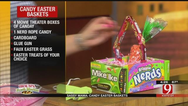 Candy Easter Baskets