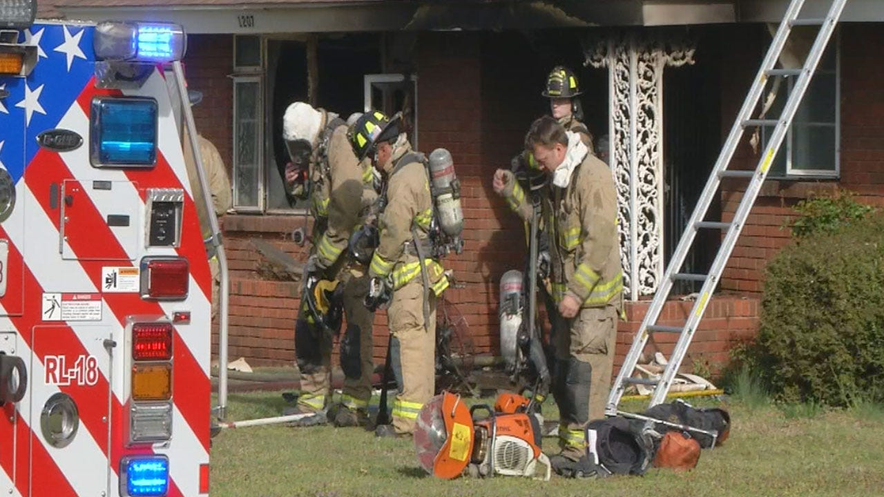 Authorities: Two Children Died In Northeast OKC House Fire
