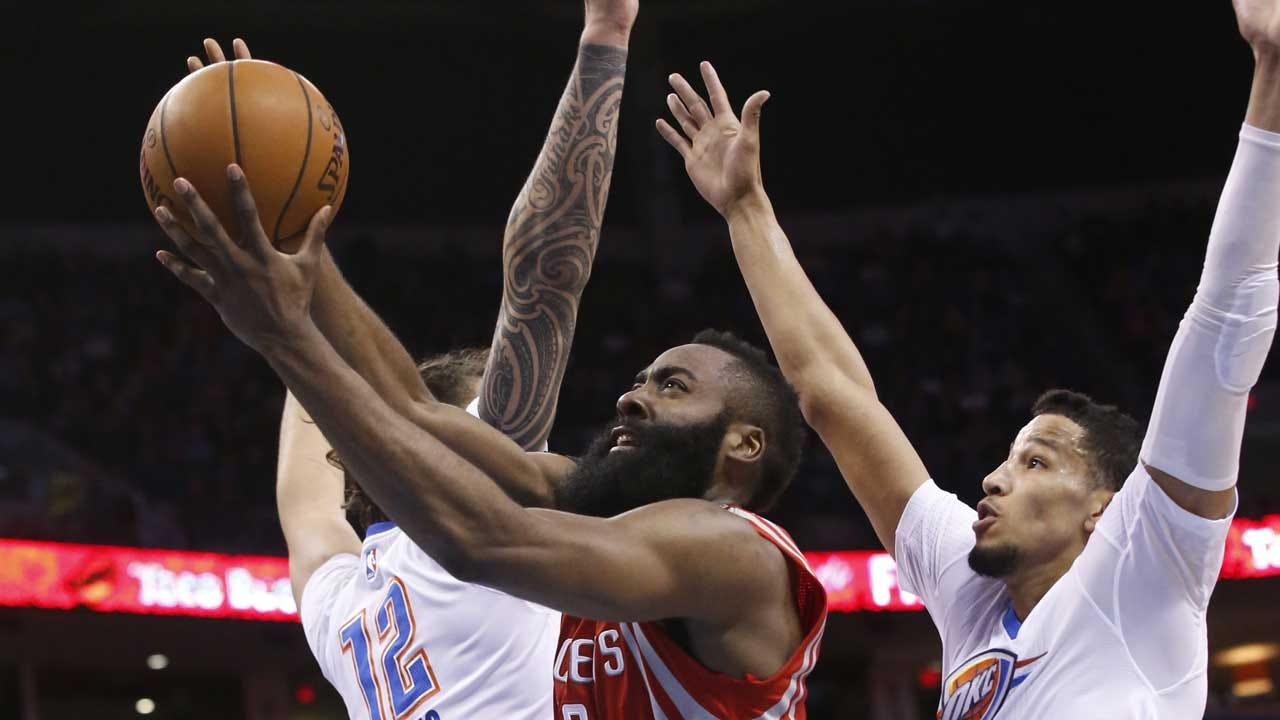 Five In A Row: Thunder Sneak Past Rockets As Westbrook Triple-Double's Again