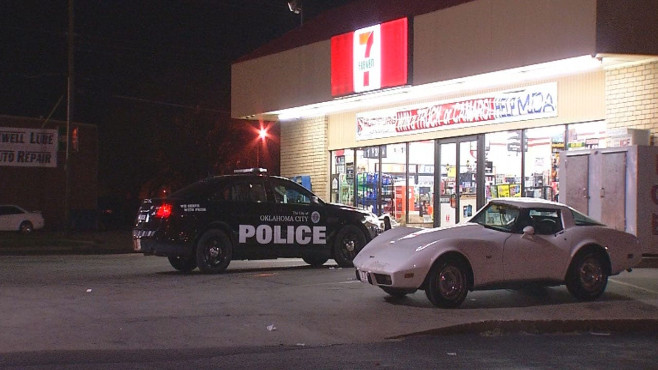 Police: Man Robs 7-Eleven At Knifepoint In NW OKC