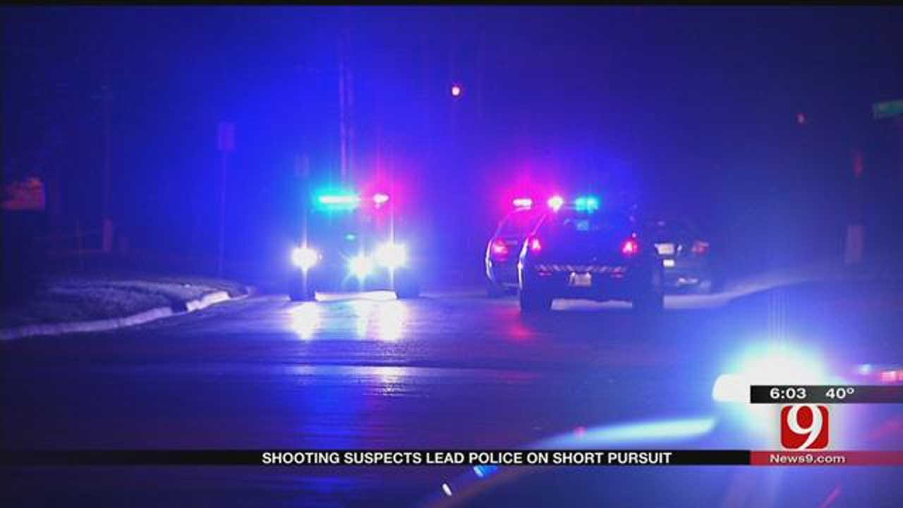 Shooting Suspects Lead OKC Police On Pursuit