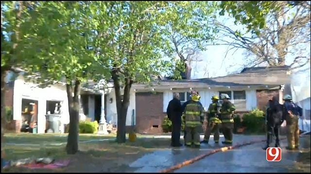 Authorities Investigate Cause Of Midwest City House Fire