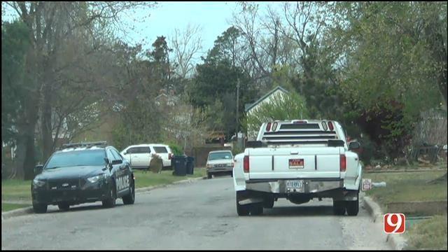 OKC Police Look For Auto Burglary Suspect