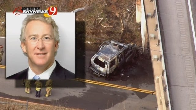 OKC Police Release 911 Calls Made After Crash Involving Aubrey McClendon