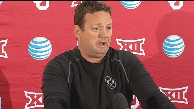 WATCH: Bob Stoops' Press Conference Heading Into Spring Practice