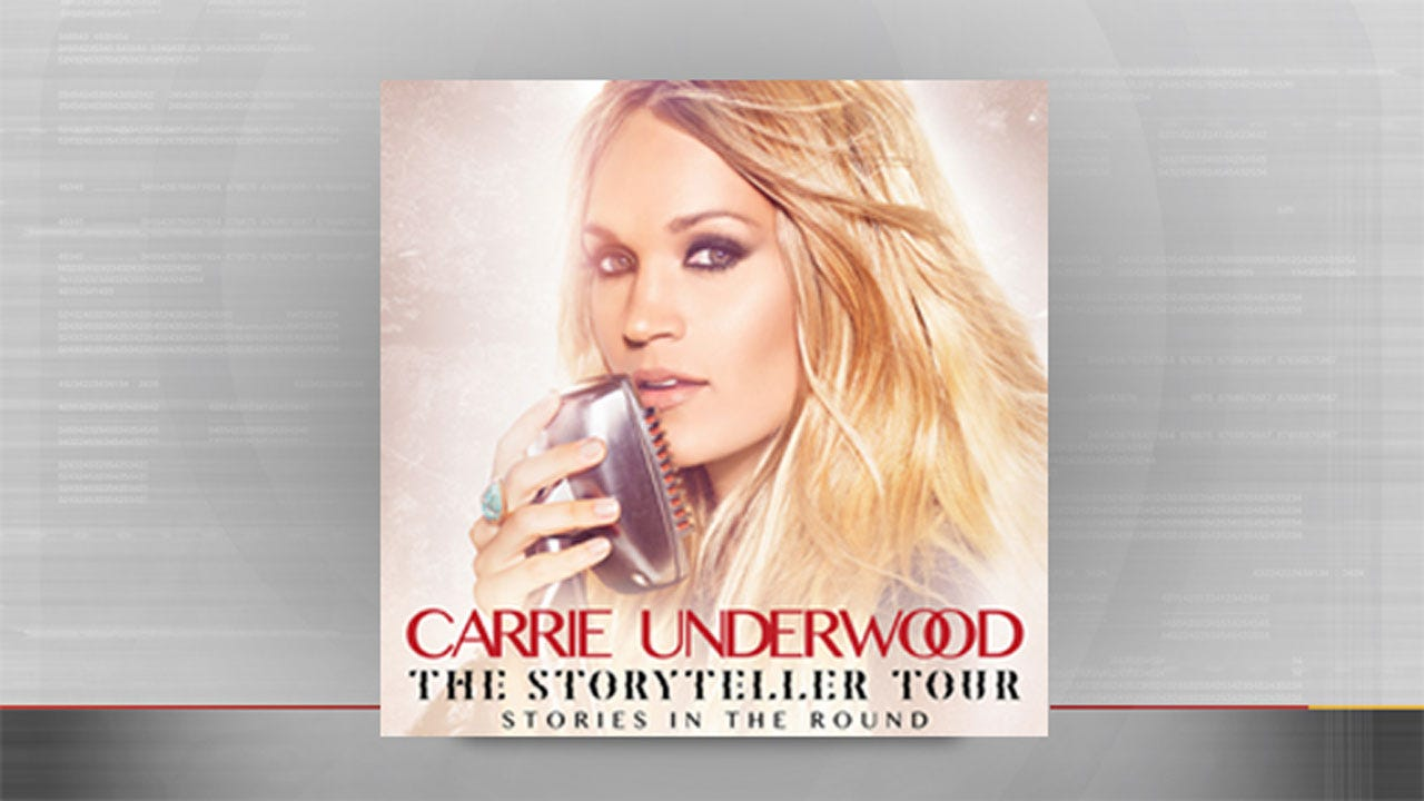 Carrie Underwood To Bring 'The Storyteller Tour' To OKC
