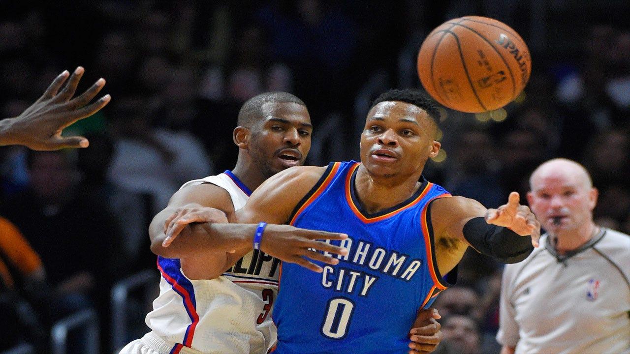 Thunder Social Scene: Clippers In OKC