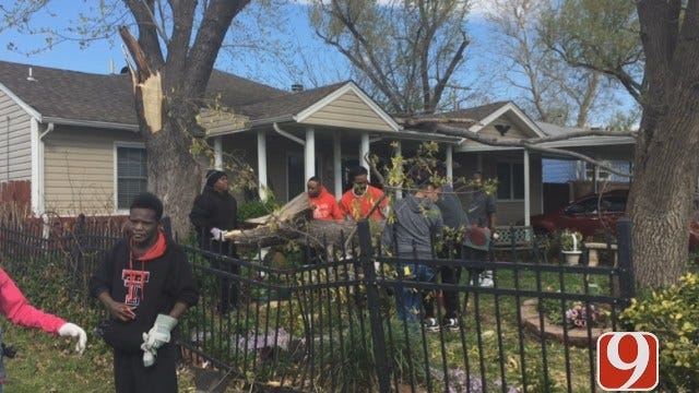 Tornado Damage Extensive In North Tulsa Neighborhoods