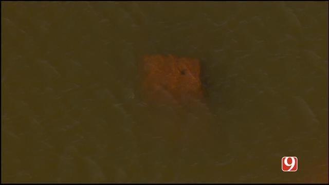 Submerged Vehicle Found At Draper Lake