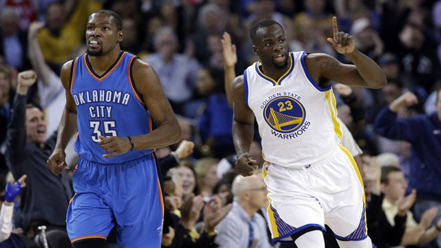 Warriors World: Thunder Outmatched Down Stretch As Golden State Sweeps Season Series