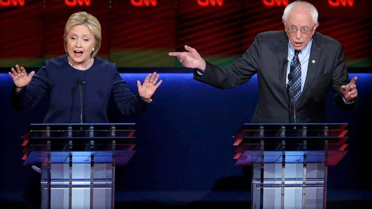 Hillary Clinton, Bernie Sanders Face Off In Their Flint-Based Debate