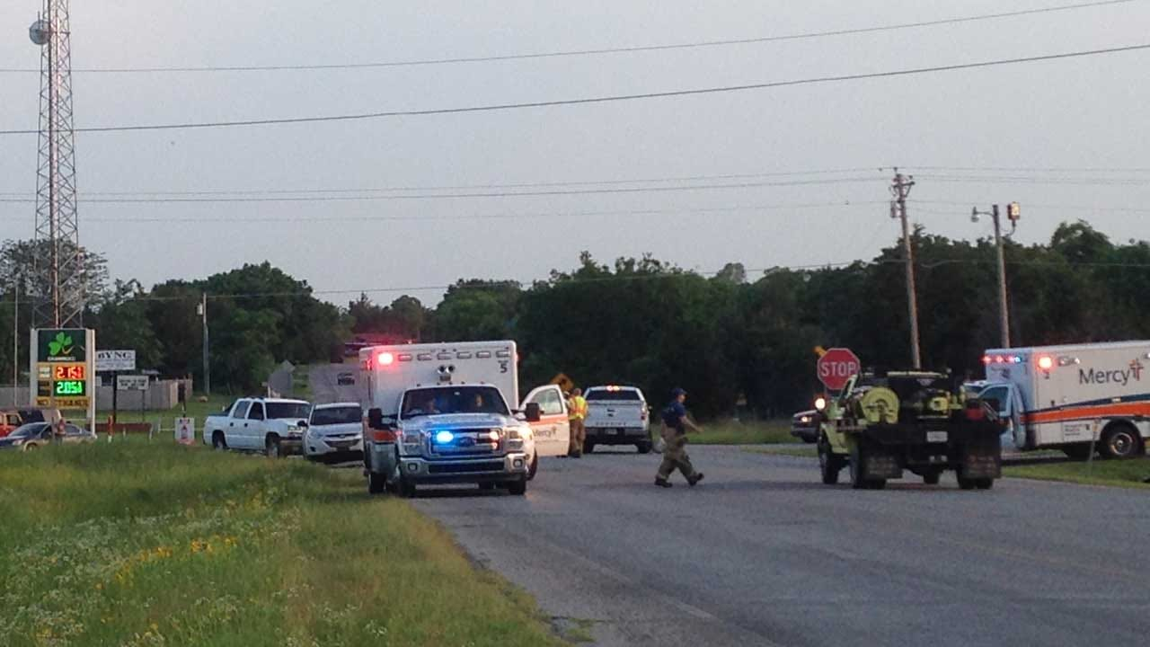 Law Enforcement Fatally Shoots Armed Suspect In Byng
