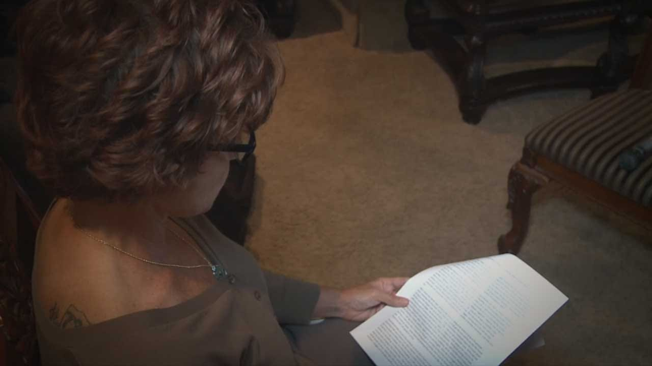 OHP Trooper's Mother Reads Impact Statement To Son's Killer