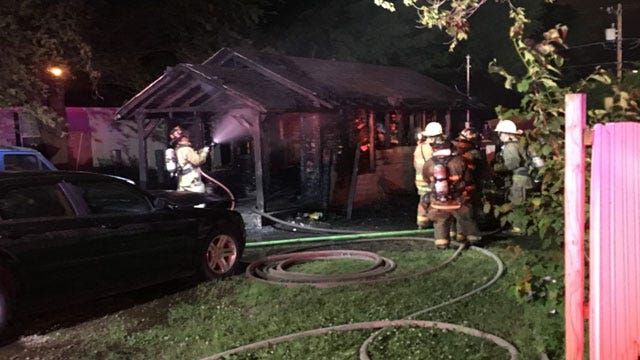 Fire Destroys House In SE OKC