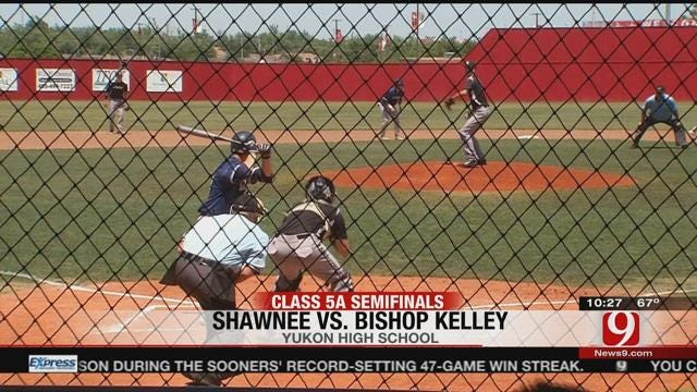 WATCH: Edmond Memorial & Shawnee Baseball Teams Advance to Title Game