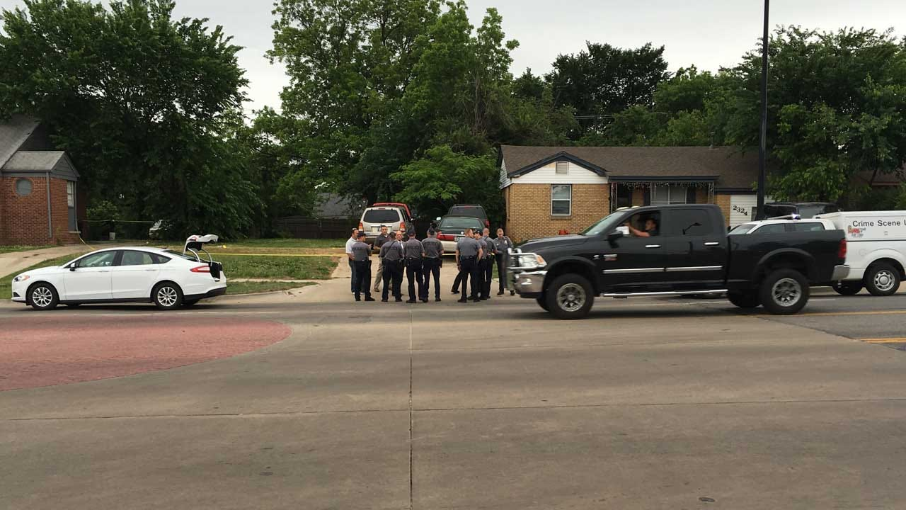 One Hospitalized After NE OKC Shooting