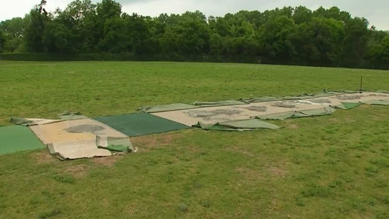 Vandals Target Oklahoma City Cricket Club Field