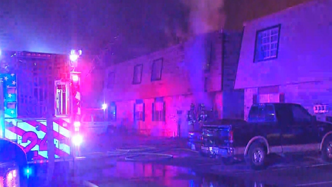 Officials Looking Into Cause Of Apartment Fire In NW OKC