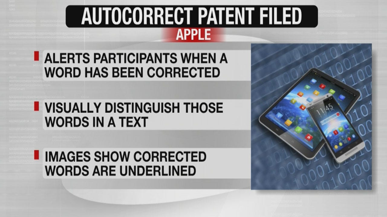 Apple's New iPhone Patent Could Prevent Autocorrect Fails