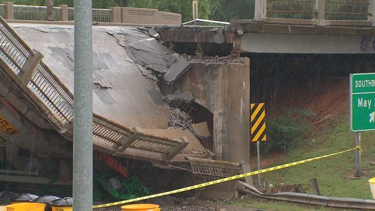Northwest Expressway Reopens After May Avenue Bridge Collapse