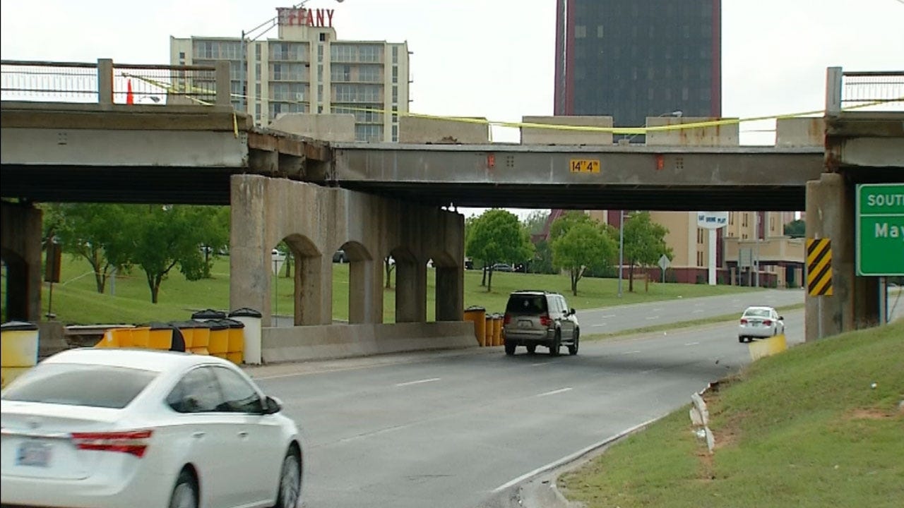 NW Expressway Reopens Ahead Of Schedule; May Ave. Bridge Remains Closed