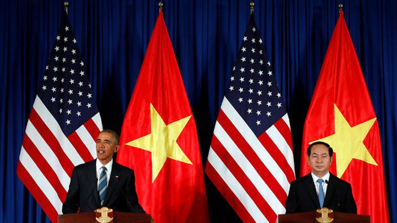 Obama Reverses 5-Decade Arms Policy On Vietnam