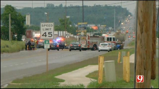 One Killed, One Injured In Collision Involving Bobtail Truck In OKC