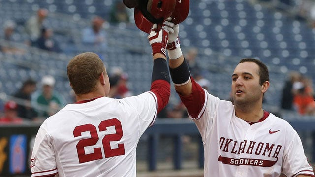 OU Baseball: Neuse A Unanimous Selection To All-Big 12 First Team