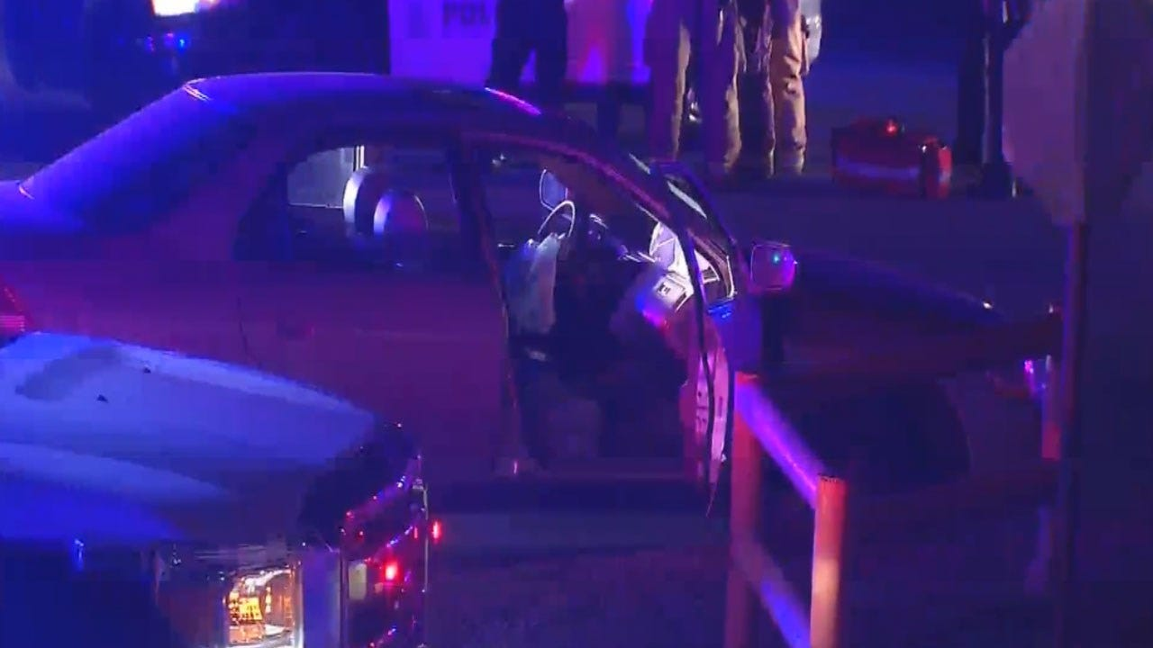 Suspect Arrested After Leading Del City Police On Brief Pursuit