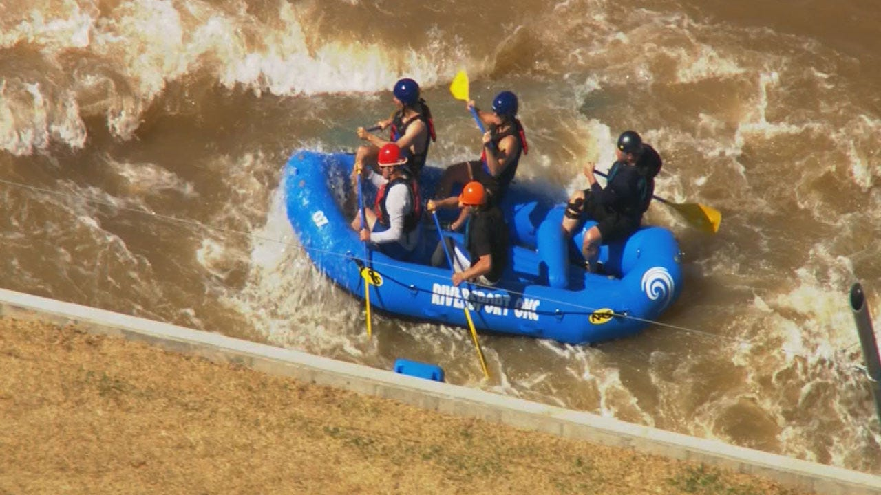 OKC's Riversport Rapids Center Kicks Off Summer With Memorial Day Festival